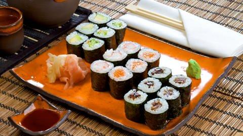 Sushi (Japanische Reisröllchen) (Foto: iStock)