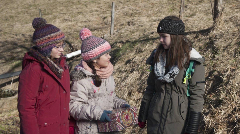 Drei Kinder im Wald (Foto: SWR, SWR -)