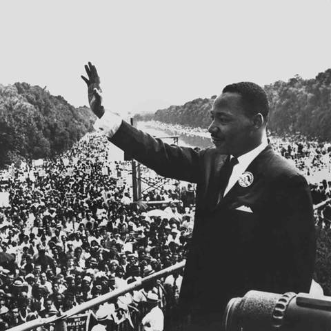 1 - Martin Luther King (Foto: dpa Bildfunk, Picture Alliance)