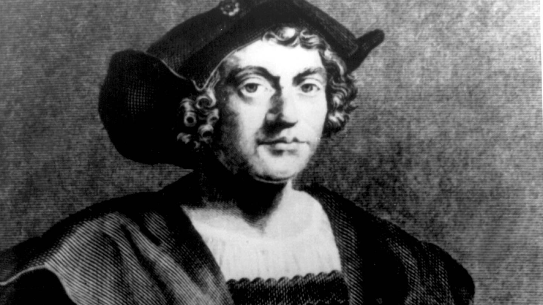 Zeitgenössische Darstellung von Christoph Kolumbus (Foto: dpa Bildfunk, Name des Autors/Fotografen: A0090 Heinz Bogler)